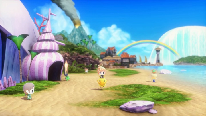 Entering the World of Final Fantasy